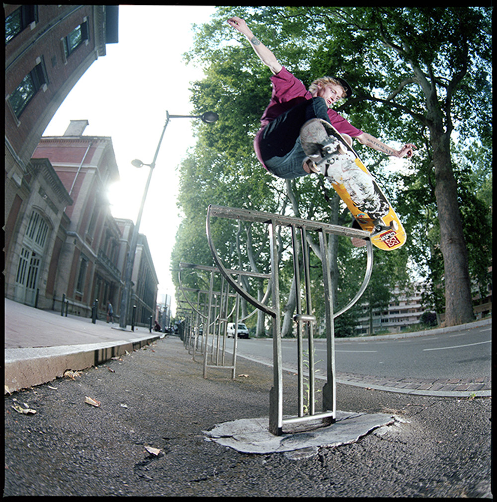 Andy White - Crooked - Toulouse 2013