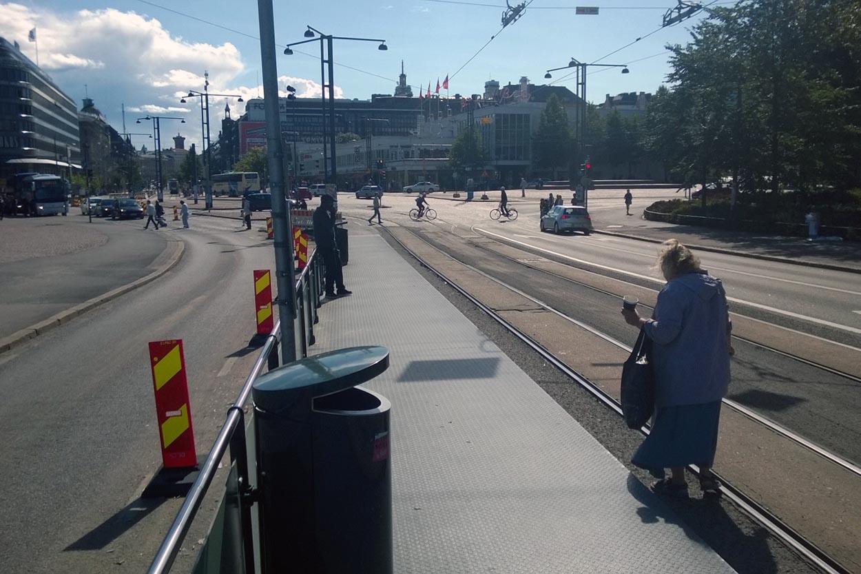 Helsinki poubelle